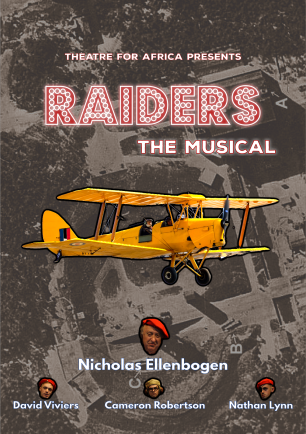 raiders the musical booklet cover